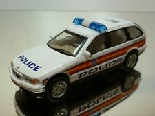 HONGWELL BMW 325i TOURING E36 - POLICE 861 - WHITE 1:43 - GOOD CONDITION
