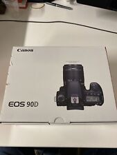Canon EOS 90d 32.5MP 4K DSLR Camera Body only - Black- Brand new