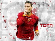 POSTER TOTTI AS ROMA MAGICA SOCCER FOOTBALL CALCIO BIG7