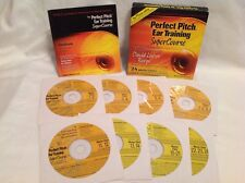 PERFECT PITCH EAR TRAINING SUPERCOURSE 24 Master Classes On 8 CDs David L Burge!