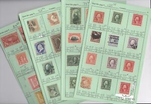 US, includes BOB, Excellent assortment of Stamps hinged on remainder APS pages