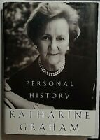 Personal History Signed by Katherine Graham Autographed Hardback WAPO Owner DSCD