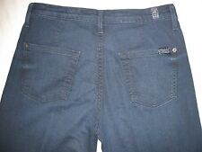 7 Seven For All Mankind The Trouser 26 X 30 1/4 Wide Leg Dark Wash Women's Jeans