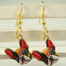 Fashion 1pair Women Lady Elegant dog charm dangle Earrings listed hot sell c7m