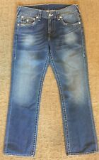 True Religion Hand Pick Sample Straight Jeans size W 32 L 34