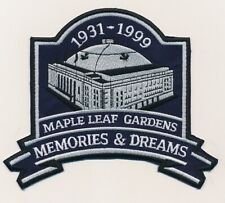Maple Leaf Gardens Memories & Dreams Crest Toronto Maple Leafs
