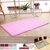Soft &Absorbent Memory Foam Bath Shower Mat Non-slip in Bathroom Toilet SALE!!