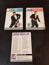 1991-92 Arena Draft Exclusive Tuxedo Premiere French Edition