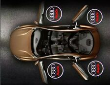 2x Audi Courtesy Laser Door Puddle Lights Projects Logo Clearly On Ground