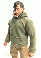 SU-SS-VEN: FIGLot Fabric Hoodie for Mezco One:12 Marvel Legends Figure - Olive