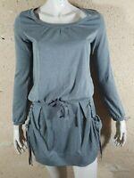 COMPTOIR DES COTONNIERS Taille S - 36 Superbe robe grise manches longues dress