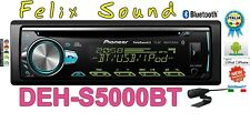 Pioneer DEH-S5000BT  Autoradio Sinto CD MP3 USB BLUETOOTH 2 RCA