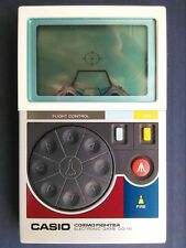 Casio Cosmo Fighter Vintage Electronic Handheld LCD Game - RARE