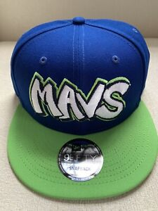New Era Dallas Mavericks 9Fifty Custom City Edition Series Snapback 950 Hat NEW