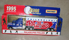 Matchbox 1995 Phillies Team Collectible tractor trailer - new in package