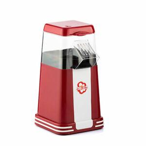 SHOP-STORY - Popcorn Maker: Maschine Erdbeer-Mais Retro Rot 1200W