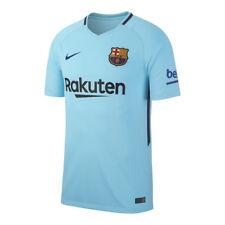 Extérieurs de football de clubs espagnols bleus longueur manches manches courtes