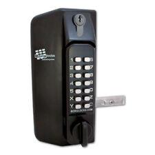 BORG LOCKS BL3130 Knob Marine Gate Double Digital Lock BL3130DKO Key Override