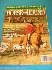 HORSE and HOUND - RIDING FOR THE DISABLED - FEB 2 1995