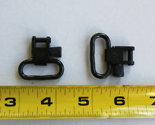 "1 Set (2pcs) 1"" Grovtec Quick Detach (QD) Swivels All Metal Made/USA Blued Lot"