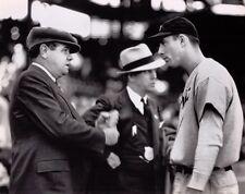 Babe Ruth Hank Greenberg 1935 World Series Vinyl Photo Banner 4' x 2.5' FREE S/H