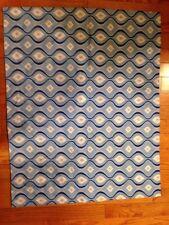 Blue Design Print Standard Pillow Sham Case 29x24