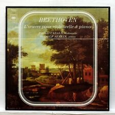 CASALS, SERKIN - BEETHOVEN the cello & piano works CBS 3xLPs box EX+