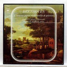 CASALS, SERKIN - BEETHOVEN the cello & piano works CBS 3xLPs box EX+