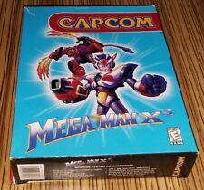 Mega Man X3 PC BIG BOX CIB Rare (usually seen on Super Nintendo SNES) Capcom
