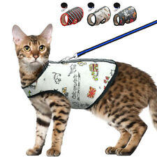 Cat Walking Jacket Harness and Lead Pet Puppy Small Dog Vest Jack Russell Yorkie