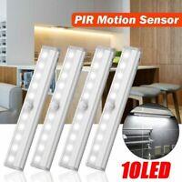 Wireless LED Motion Sensor Movement Detector under cabinet Kitchen Wall Lamp