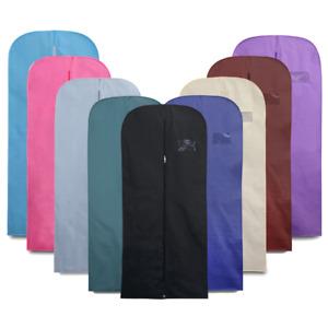 "54"" Suit Cover Clothes Bag Breathable Travel Zipped Dress Garment Storage Bags"