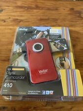 Vivitar 410 Digital Video Recorder With Camera -180° Screen Turns RED -NEW NIP