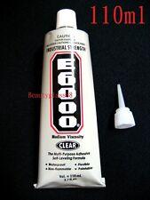 E6000 Clear Tube 3.7 fl oz 110 ml Industrial Strength Adhesive Glue + NOZZLE TIP