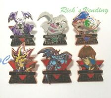 Yugioh Lot Of 6 Metal Lapel Pins 1.5 inches in height