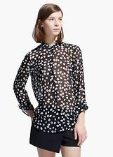 Camisa de mujer, blusa talla XS Reino Unido 6, Mango