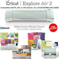 Fastest Cricut Explore Air 2 With Tool Kit And Vinyl Pack For Designs & Project