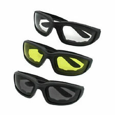 NEW Fashion Padded Wind Resistant Sunglasses Extreme Sports Motor Riding Glasses