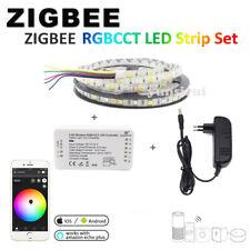 Zigbee ZLL link Controller RGBCCT 12V 5M 5050 Flexible LED Band Streifen Licht