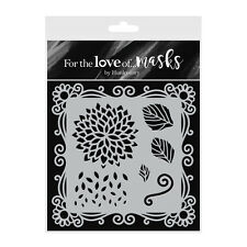 DELIGHTFUL DAHLIAS - Stencil - For The Love of Masks - Hunkydory