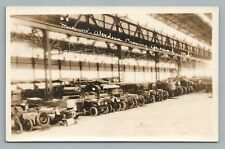 Military Car Museum—Aberdeen Proving Grounds RPPC Maryland—Antique Photo 1931