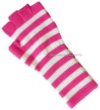Ladies Womens Magic Stretch Winter Gloves W/ Palm Grip Dots Gripper Black