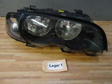 SCHEINWERFER rechts + BMW 3er E46 Coupe Cabrio bis 09.2001 + Original m. Blinker