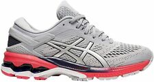ASICS Women's Gel-Kayano 26 Running Shoes, Piedmont Grey/Silver, 12 B(M) US