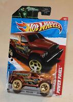 2011 Hot Wheels Thrill Racers Desert 11 #186 Power Panel Brown New