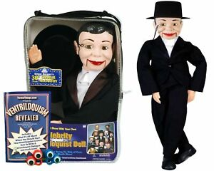 Bonus Bundle Charlie McCarthy - Ventriloquist Dummy Doll - NEW
