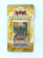 YuGiOh TCG 1st Edition Cyberdark Impact Blister Pack Sealed Booster Konami CDIP