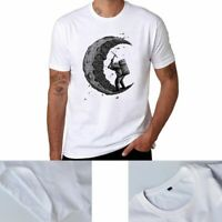 Verano Camiseta de manga corta Algodón Creative Print Men 's t - shirt