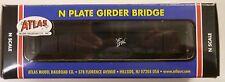 Atlas N Scale Code 80 Plate Delaware & Hudson Girder Bridge 2549