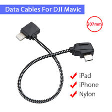 Remote Control Data Connector Cable FPV 207mm For DJI Mavic Pro Tablet Lightning